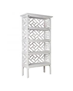 David Francis Chinese Chippendale Etagere-Available in a Variety of Finishes