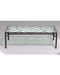 Chinese Chippendale Outdoor Coffee Table - Available in a Variety of Colors