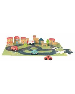 City Car Puzzle Toy for Kids