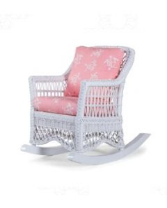 Classic Children's Wicker Rocking Chair - Available in a Variety of Finishes