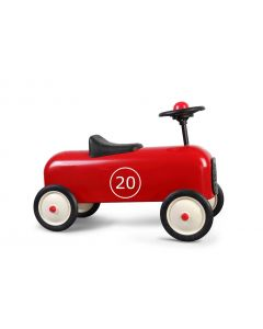 Red Classic Racer Ride On Car for Kids