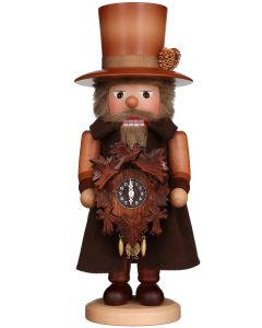Clockmaker with Key-Wound Clock Traditional German Nutcracker Christmas Decoration