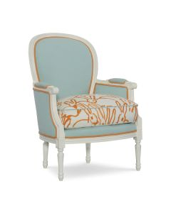 CR Laine Calais Custom Accent Chair – Available in Variety of Fabrics and COM