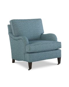 CR Laine Custom Design English Arm Chair – Available in Variety of Fabrics and COM