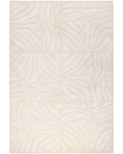 Cream and Khaki Swirl Design Area Rug  Available in a Variety of Sizes