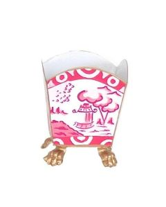 Canton in Pink Cachepot  Small