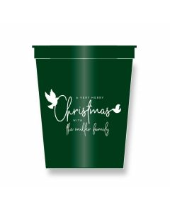 Dove Personalized Party Cups