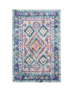 Multi Color Geometric Print Area Rug - Available in a Variety of Sizes