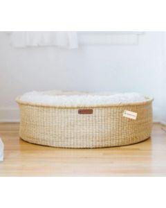 Elephant Grass Donut Style Dog Bed - Available in Three Sizes
