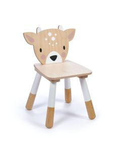 Enchanted Forest Wooden Deer Chair for Kids