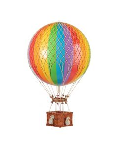 Extra Large Rainbow Striped Hot Air Balloon Model