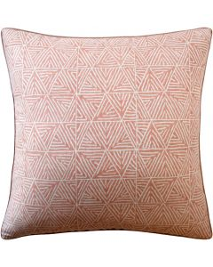 Graphic Design Decorative Throw Pillow in Cinnamon - Available in Three Sizes