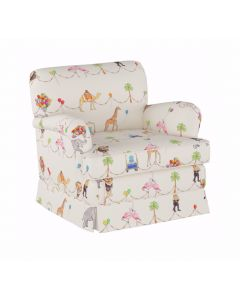 Gray Malin For Cloth & Co. Parker Parade Multi Kids Club Chair