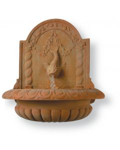Great Dolphin Bowl Garden Fountain - Available in 2 Finishes