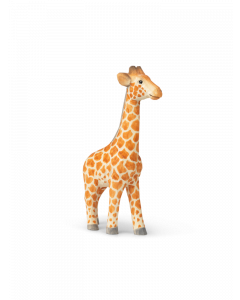 Hand Carved and Painted Toy Giraffe