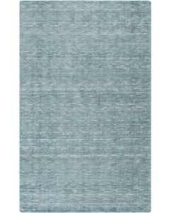 Hand Woven Teal and Aqua Rug, Available in a Variety of Sizes