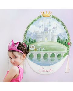 Cinderella Inspired Princess Castle Decal Cut-Outs Wall Art for Kids