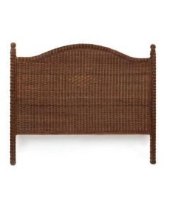 Harvested Rattan Wicker Queen Headboard - Available in a Variety of Colors