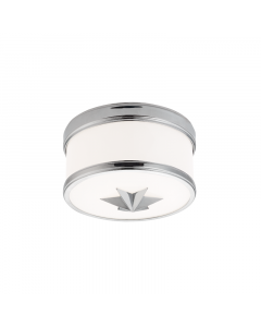 Hudson Valley Lighting Seneca Ceiling Flush Mount or Porthole Sconce with Star - Available in Five Finishes and Three Sizes