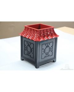 Set of Two Pagoda Wood Indoor Tabletop Garden Planters – Can be Customized