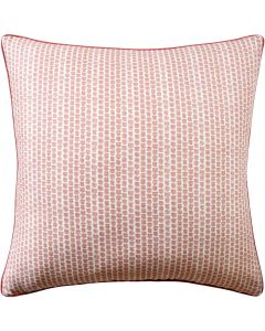 Kaya Decorative Pillow in Berry Red – Available in Three Sizes