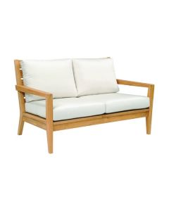 Kingsley Bate Algarve Outdoor Settee with Cushions - ON BACKORDER UNTIL EARLY MARCH 2022