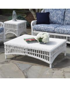 Kingsley Bate Chatham Outdoor Coffee Table in White