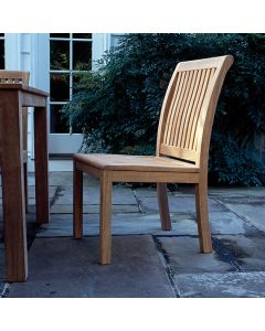 Kingsley Bate Chelsea Outdoor Dining Side Chair - ON BACKORDER UNTIL EARLY MARCH 2022