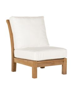 Kingsley Bate Chelsea Outdoor Armless Sectional Chair - ON BACKORDER EARLY MARCH 2022
