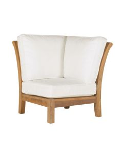 Kingsley Bate Chelsea Outdoor Armless Sectional Corner Chair - ON BACKORDER UNTIL EARLY MARCH 2022