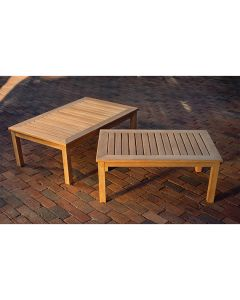 Kingsley Bate Classic Rectangular Coffee Table in Two Different Sizes - ON BACKORDER UNTIL LATE MARCH 2022