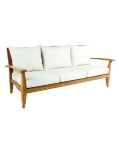 Kingsley Bate Ipanema Outdoor Teak Sofa with Cushions - ON BACKORDER UNTIL EARLY MARCH 2022