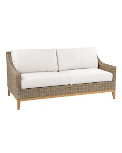 Kingsley Bate Frances Outdoor Wicker Sofa in Variety Colors - ON BACKORDER UNTIL MARCH 2022