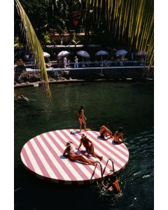 """Slim Aarons """"La Concha Beach Club"""" Print by Getty Images Gallery - Variety of Sizes Available"""