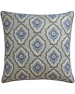 Leigh Decorative Throw Pillow in Denim - Available in Two Sizes