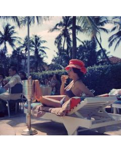 """Slim Aarons """"Leisure And Fashion"""" Print by Getty Images Gallery - Variety of Sizes Available"""