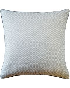 Little Tree Design Linen Decorative Throw Pillow in Spa Blue – Available in Different Sizes