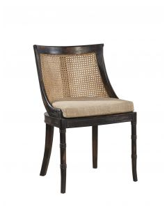 Mahogany Spoonback Dining Side Chair