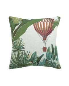 Woven Tapestry Solo Hot Air Balloon Pillow - Blue -OUT OF STOCK