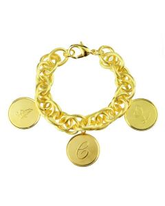 3 Charm Bracelet - Available in Silver or Gold