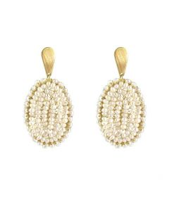 Tepati Pearl Earrings - OUT OF STOCK