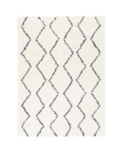 Modern Chevron Shag Rug- Available in a Variety of Sizes