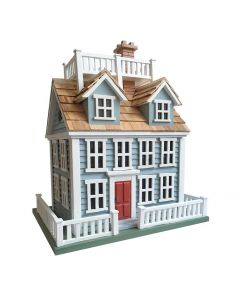 Nantucket Colonial Birdhouse with Widow's Walk - OUT OF STOCK