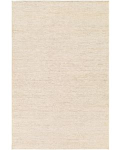 Natural Cream Hand Woven Jute Rug, Available in a Variety of Sizes