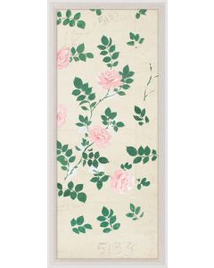 Natural Curiosities Paule Marrot Pink Roses 2 Wall Art with Optional Frame