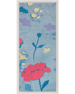 Natural Curiosities Paule Marrot Poppy Wall Art 1 with Optional Frame