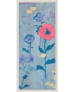 Natural Curiosities Paule Marrot Poppy Wall Art 2 with Optional Frame