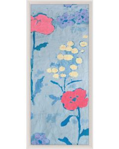 Natural Curiosities Paule Marrot Poppy Wall Art 4 with Optional Frame