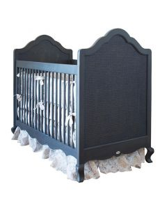 French Provincial Cottage Style Crib With Caning - Available in a Variety of Finishes