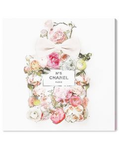 """""""Blooming Bouquet"""" Floral Fashion Canvas Wall Art - Available in 5 Sizes"""